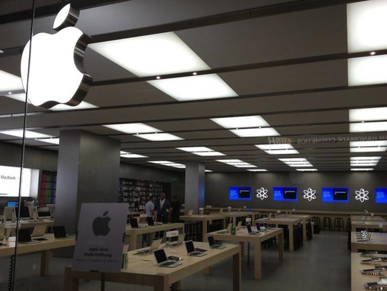 Apple Store Köln Rhein Center eröffnet