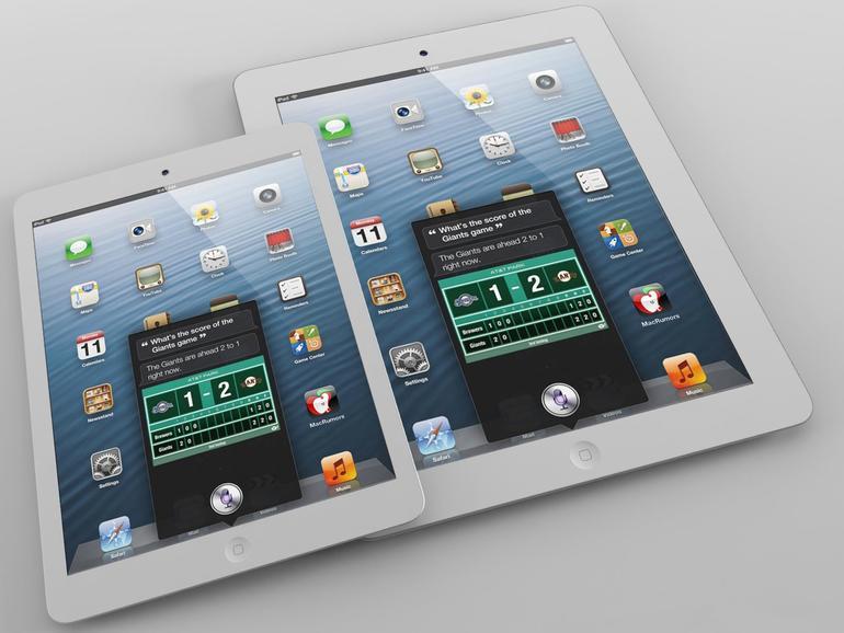 iPad mini: Mock-up als Videoclip und interaktive 3D-Grafik