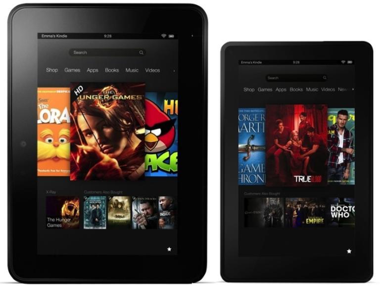 Zum Kampfpreis: Amazon präsentiert neuen Kindle Fire, Kindle Fire HD und Kindle Paperwhite