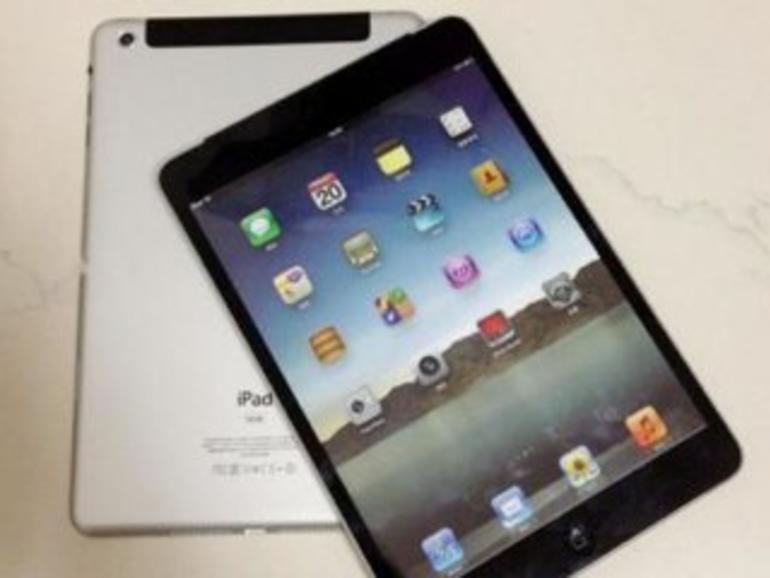 iPad mini: Neue Mock-ups abfotografiert