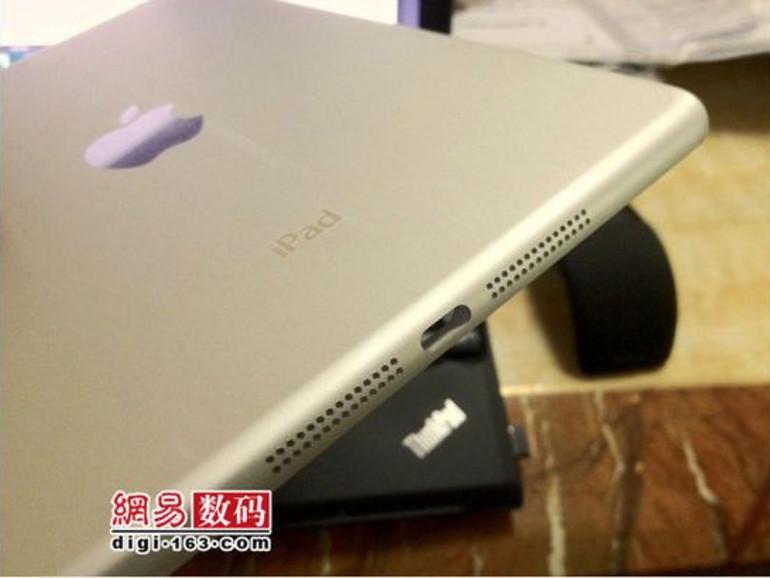 iPad mini: Neue Fotos zeigen Details der Rückseite