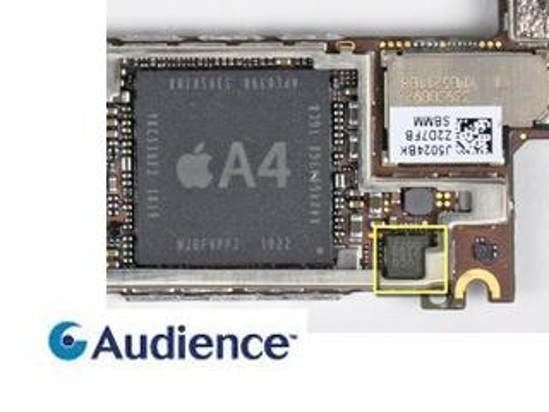 Audience: Störgeräusch-Unterdrückung im iPhone 5 vermutlich von anderem Anbieter, Aktienkurs bricht ein