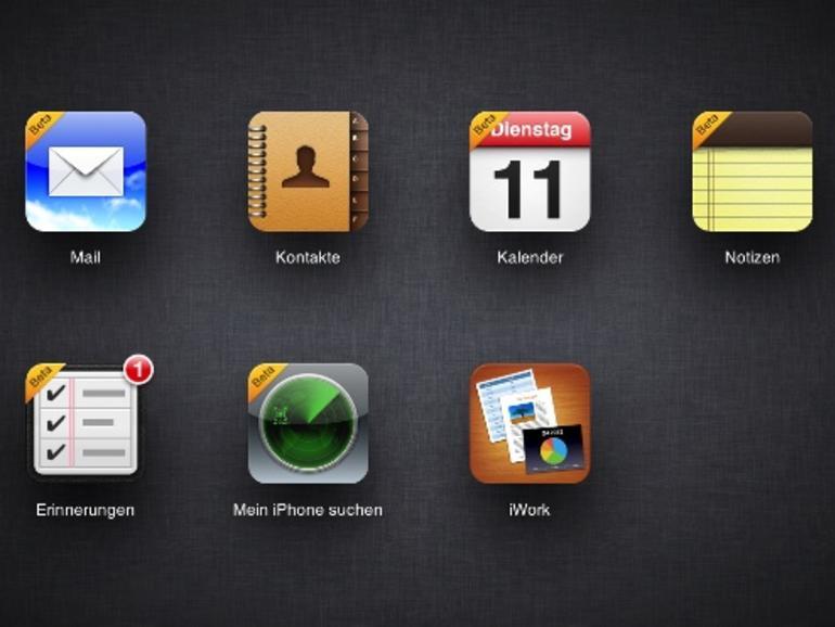 In Vorbereitung auf iOS 6: Apple poliert iCloud.com mit neuen Funktionen auf