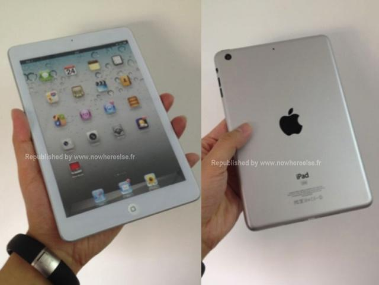 iPad mini: So könnte das kleine iPad aussehen