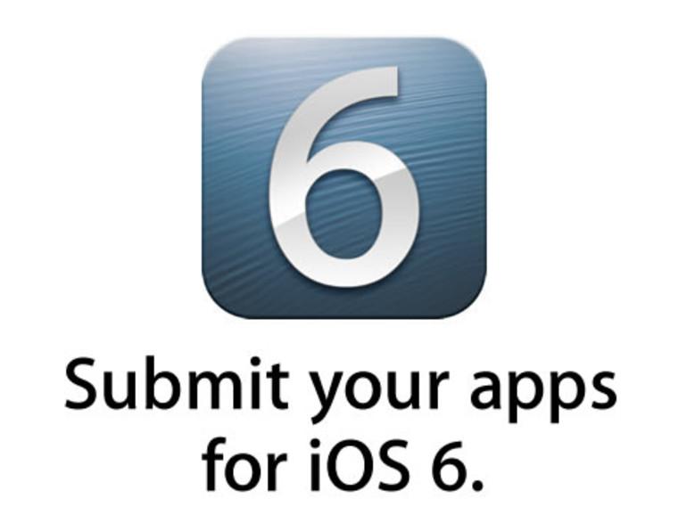 iOS 6 GM veröffentlicht, Entwickler sollen Apps einreichen