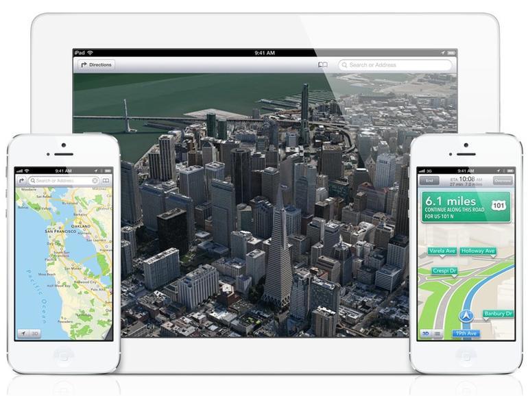 iOS 6: Die neue Kartenanwendung