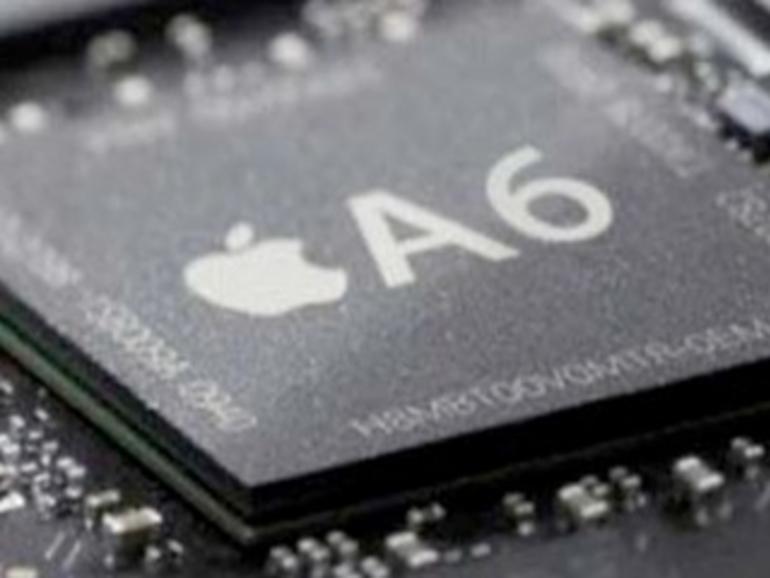A6: Neuer System-on-a-chip-Prozessor basiert auf Apple eigenem ARM-Design