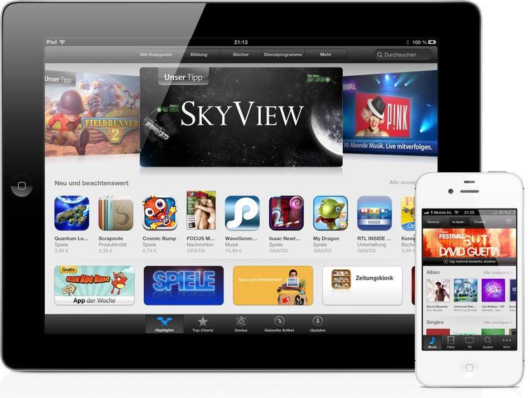 iOS 6: Neues Design und mehr Funktionen für den iTunes Store und App Store