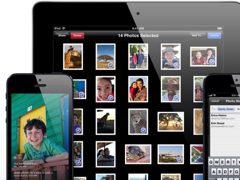 iOS 6: So funktioniert der geteilte Fotostream
