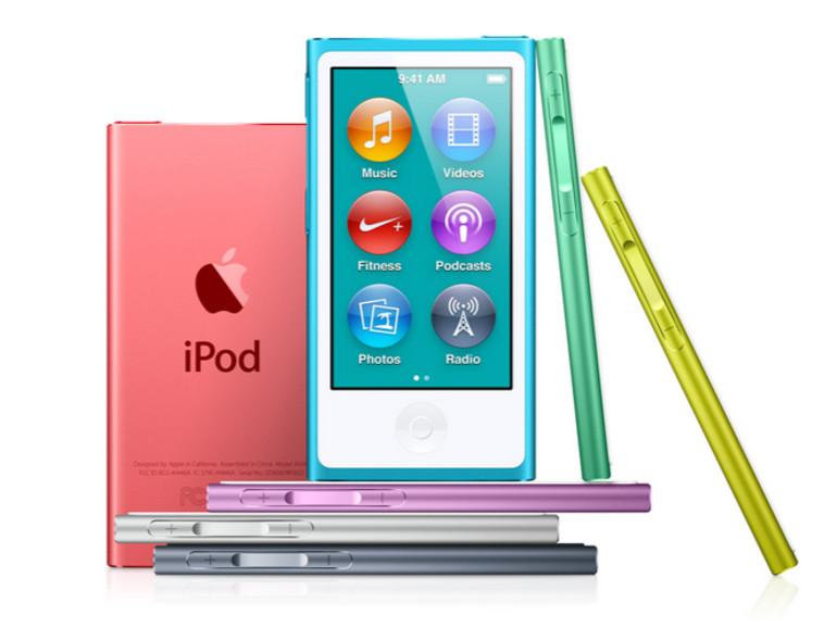 Apple veröffentlicht Software-Update für neuen iPod nano