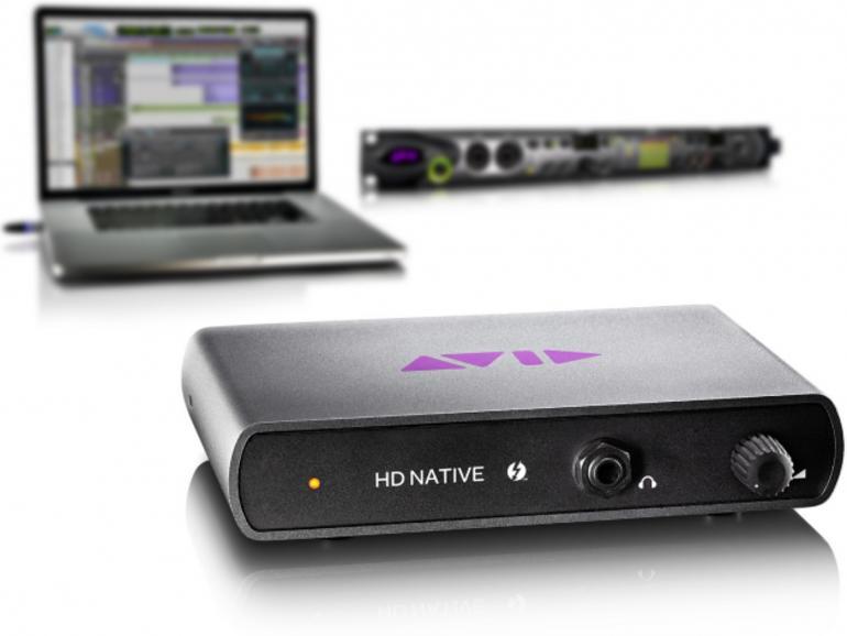 Pro Tools HD Native: Avid kündigt Thunderbolt-Hardware an
