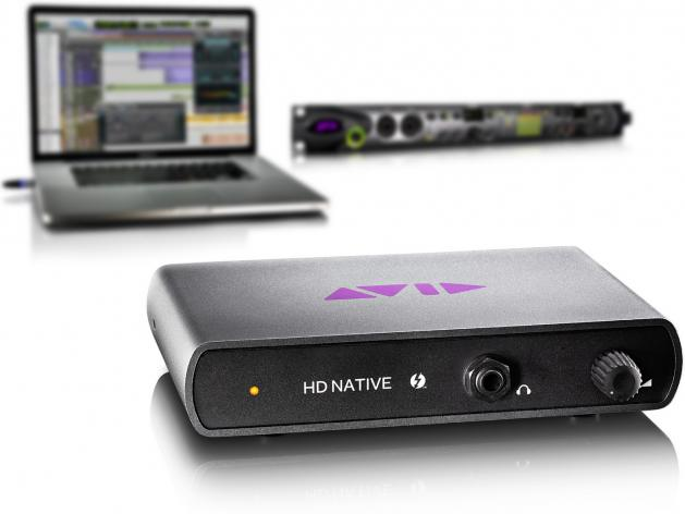 Pro Tools|HD Native: Avid kündigt Thunderbolt-Hardware an
