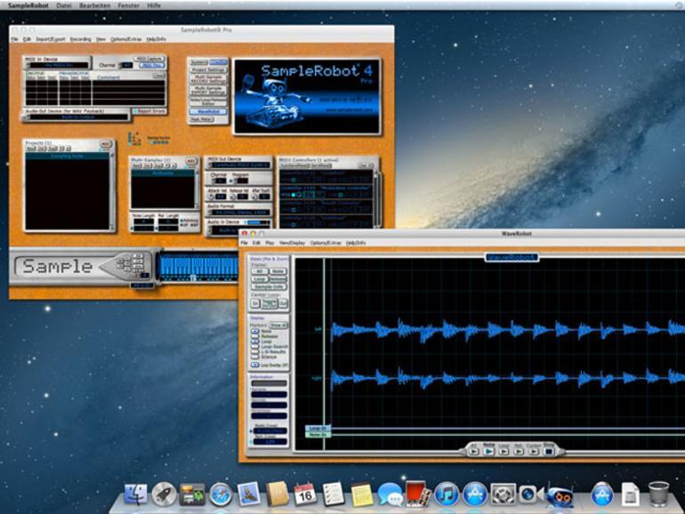 Skylife SampleRobot für Mac OS X erhältlich