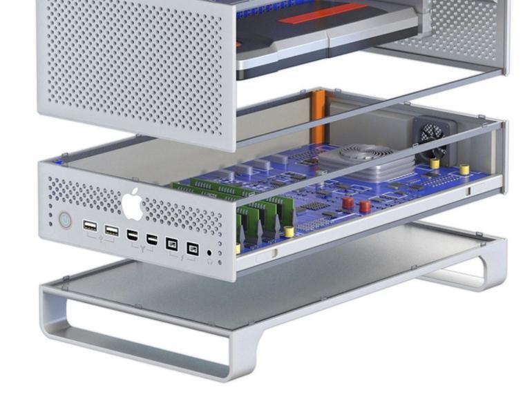 Konzept: Mac Pro als modularer Stapel-Mac