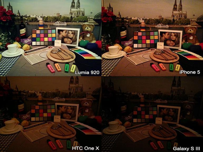 Low-Light-Vergleich: iPhone 5 gegen Lumia 920, Galaxy S III und HTC One X