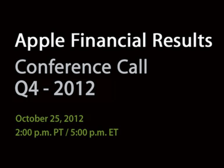 Apple gibt Quartalszahlen am 25. Oktober bekannt