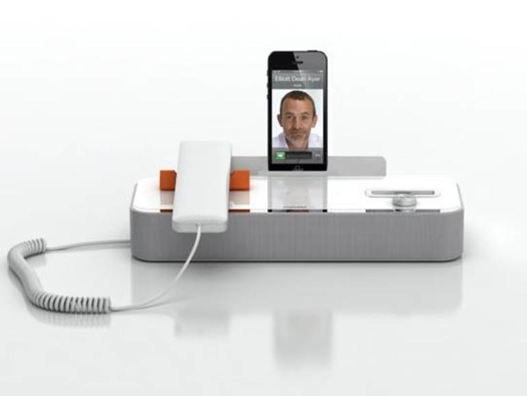 invoxia präsentiert AudiOffice: Vielseitiges Telefon-Dock für das iPhone 5