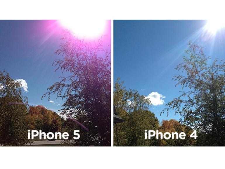 iPhone-5-Kamera: Probleme mit lila Lens Flares sind dem Apple-Support bekannt