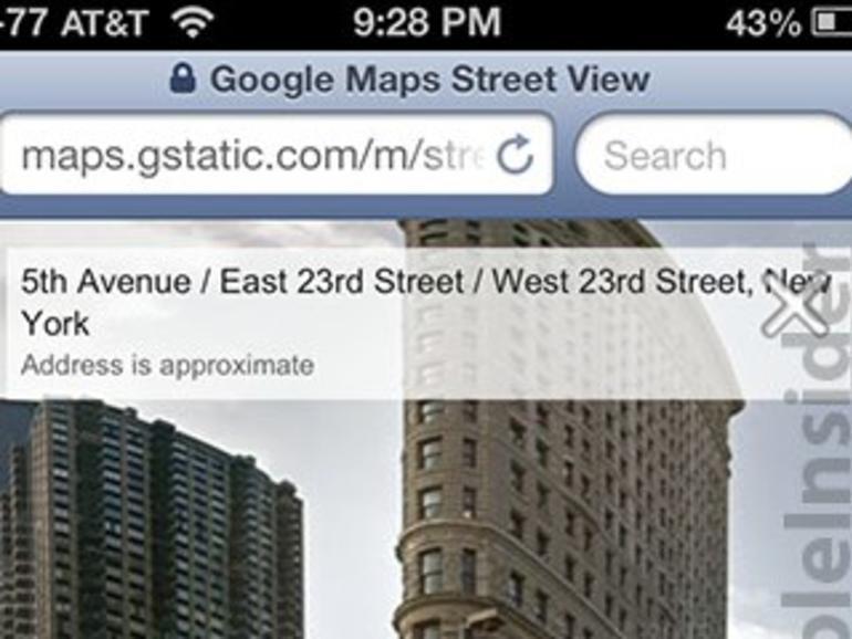 Google Street View ist ab sofort auch für Safari unter iOS verfügbar
