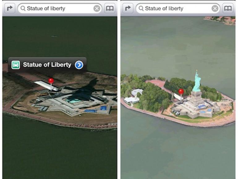 Karten-App: Apple soll Fehler schnell korrigieren