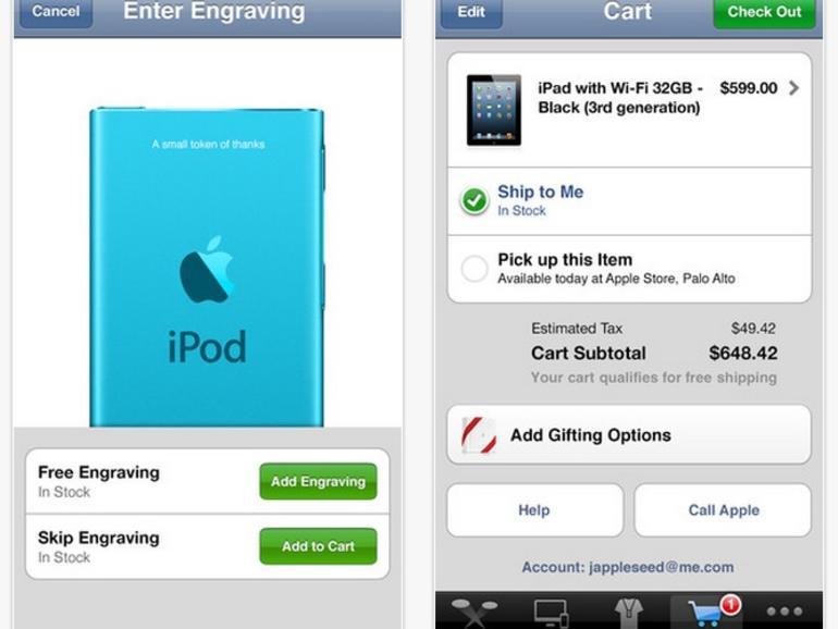 Apple-Store-App um iPhone-5-Unterstützung ergänzt