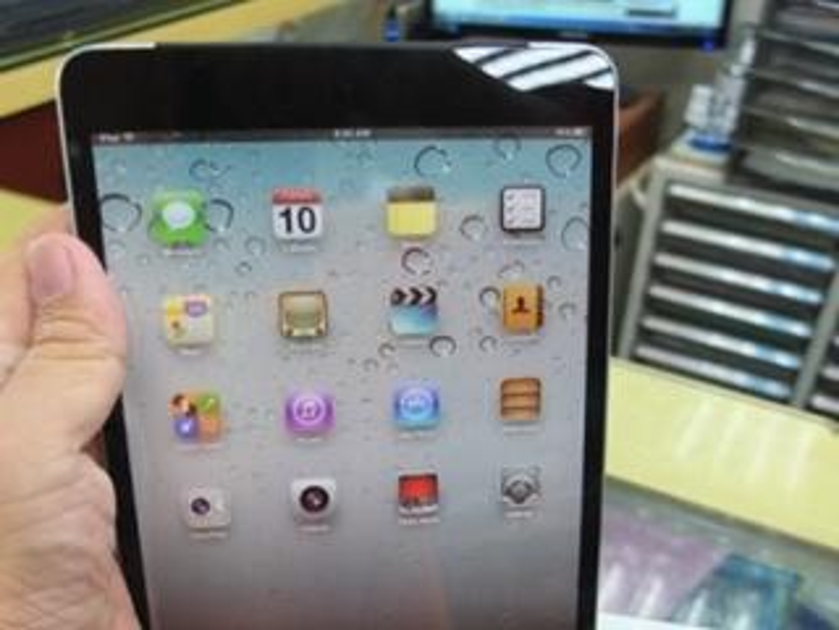 iPad mini: Weitere Mock-up-Fotos des kompakten Apple-Tablets im Umlauf