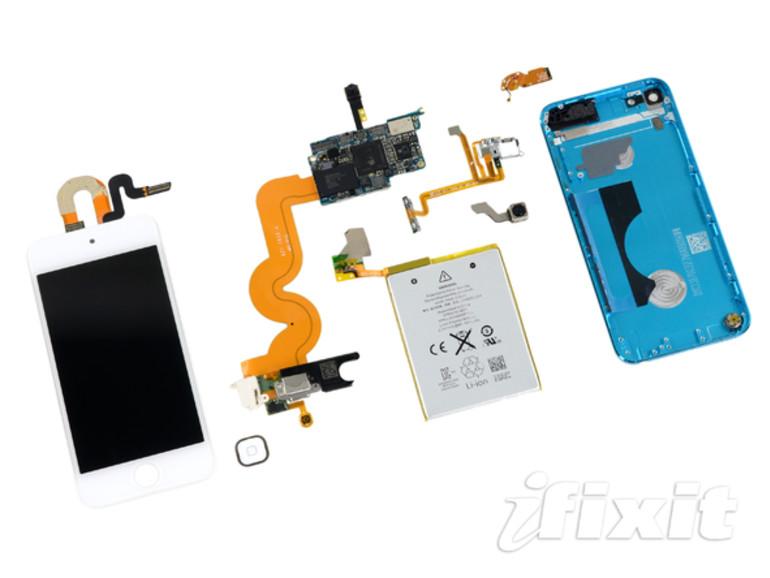 iFixit zerlegt den iPod touch der 5. Generation