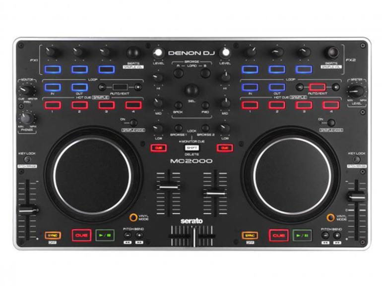 Denon MC2000 - DJ Controller mit Audiointerface