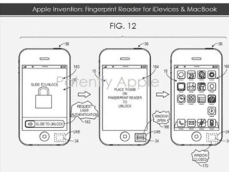 Fingerabdruckleser im iPhone: Apple erhält Patent für Biometrie-Funktionen zugesprochen