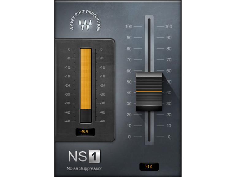 Waves NS1 - Plug-in zur Rauschunterdrückung