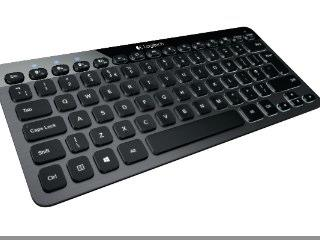 Schaltzentrale: Logitech stellt Bluetooth Illuminated Keyboard K810 vor