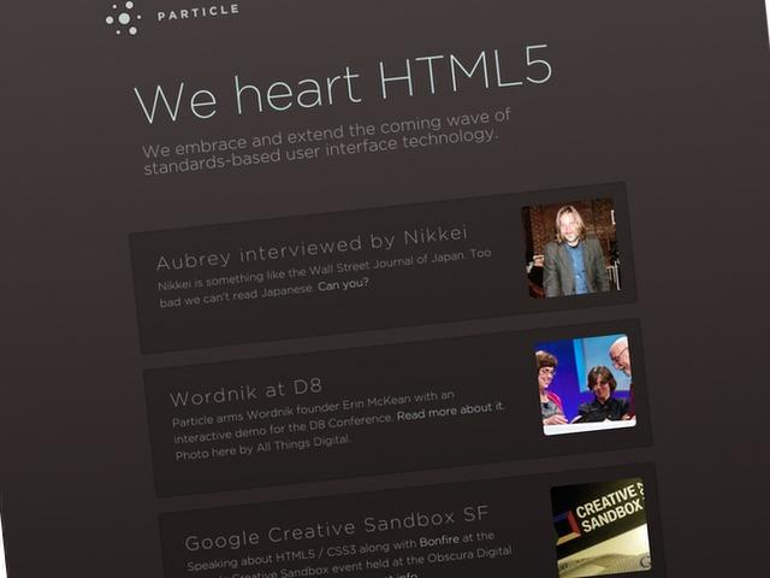 """Bericht: Apple soll HTML5-Studio """"Particle"""" übernommen haben"""