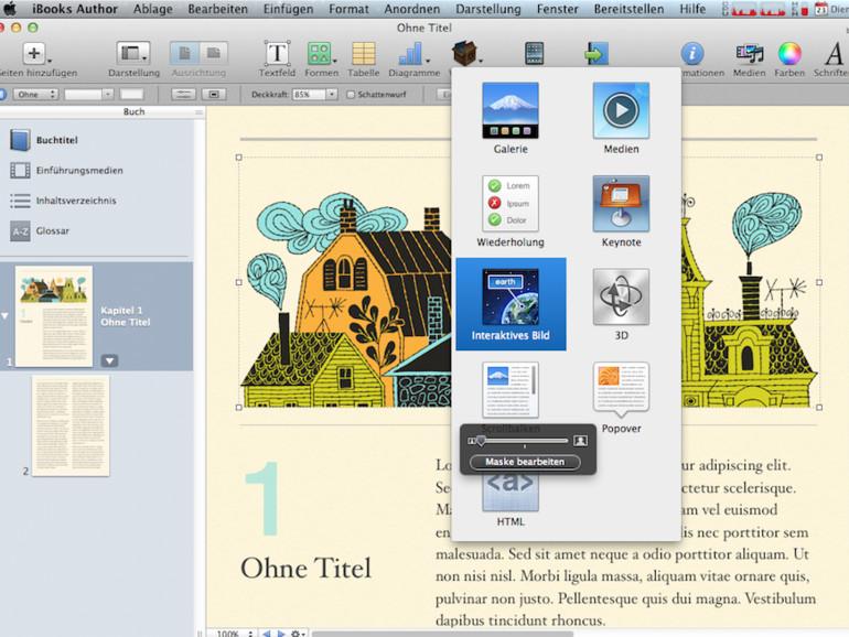 iBooks Author 2.0: Hochformat, mathematische Formeln und neue Templates verfügbar