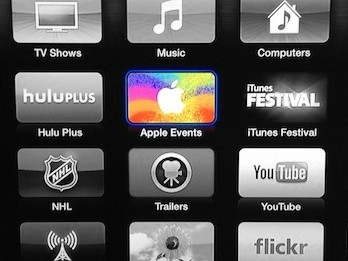 iPad-mini-Event: Apple sendet Video-Live-Stream auf das Apple TV