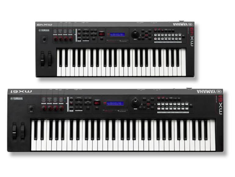 MX49 und MX61 - Neue Serie Yamaha