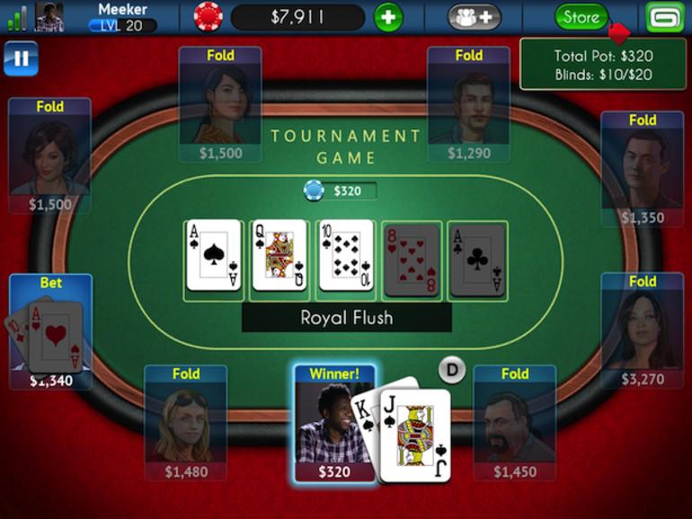 Texas Poker for Prizes