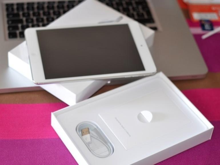 iPad mini: Das erste Unboxing stammt aus Frankreich