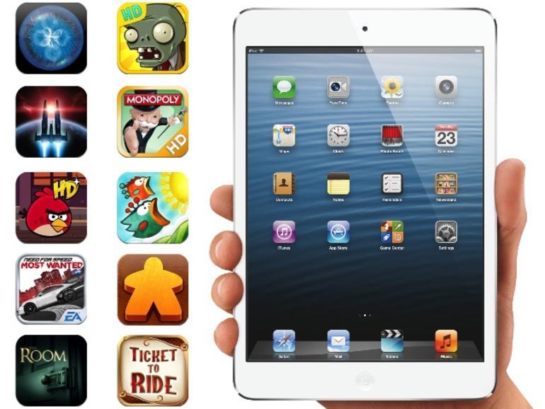 10 Spiele, die auf keinem iPad mini fehlen dürfen