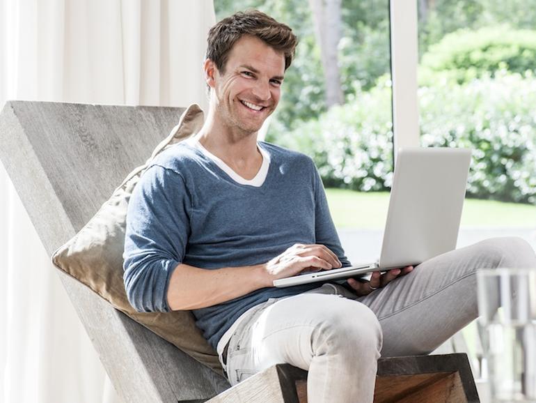 Da freut sich ein StarMoney-Anwender: Endlich kann er sich ein Retina-MacBook leisten.