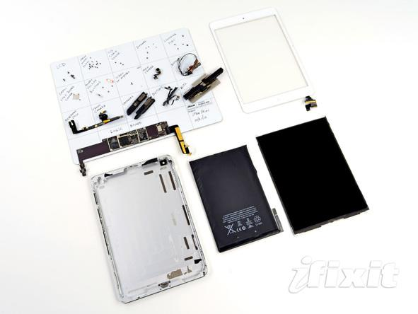 iPad mini: iFixIt zerlegt das kompakte Apple-Tablet