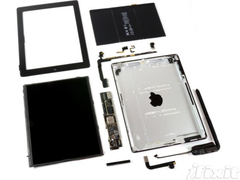 Hardware-Striptease: iFixIt zeigt das iPad 4 von innen
