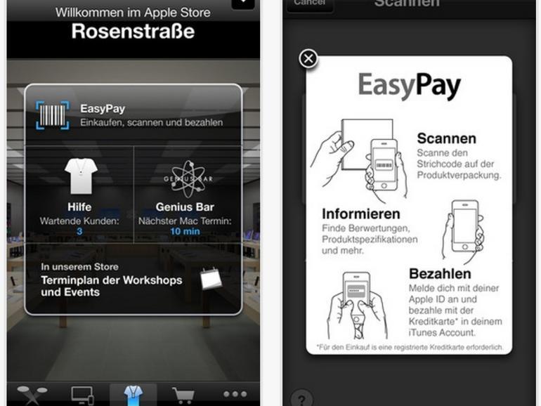 Apple-Store-App erlaubt ab sofort Einkauf via Siri