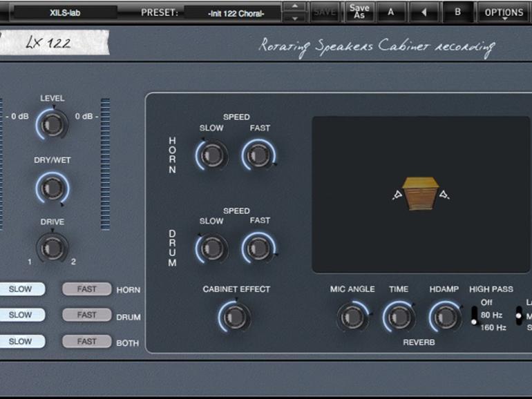 Xils-Lab LX122 - Rotating Speakers Effekt