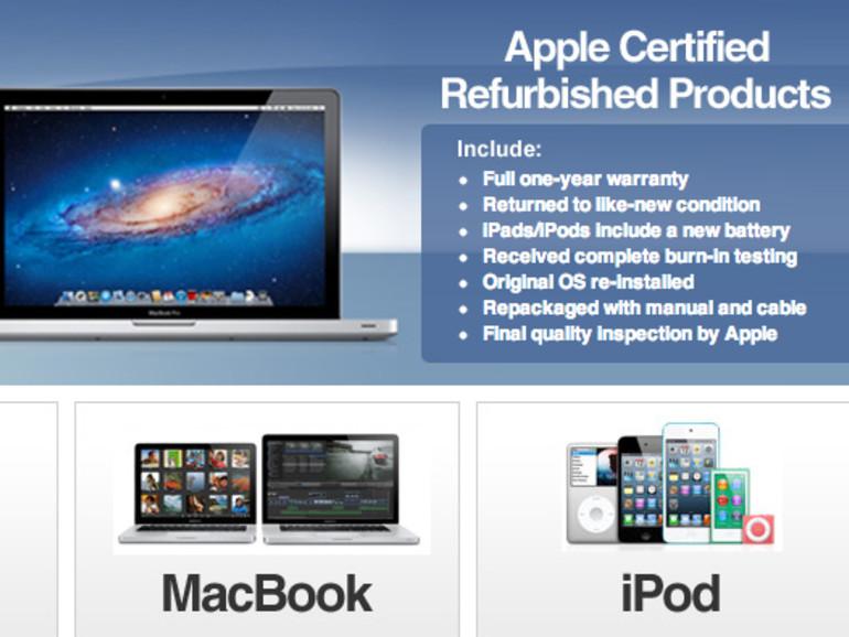 eBay-Shop für generalüberholte Macs und iPads