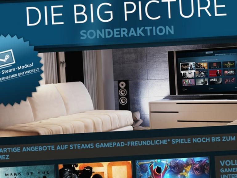 Betaphase beendet: Steam schaltet Big-Picture-Modus frei, verwandelt Macs in Spielekonsolen