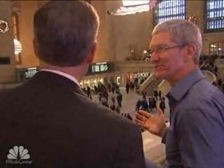 Video: Tim Cook im NBC-Interview