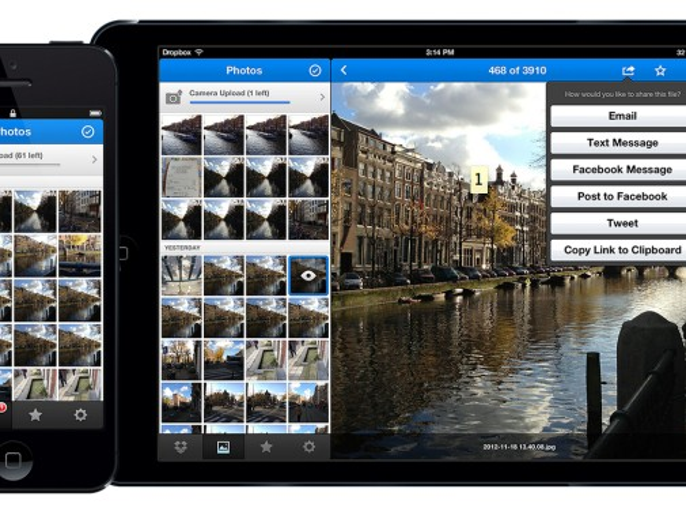 Dropbox 2.0 mit verbessertem Foto-Upload und neuem Design veröffentlicht