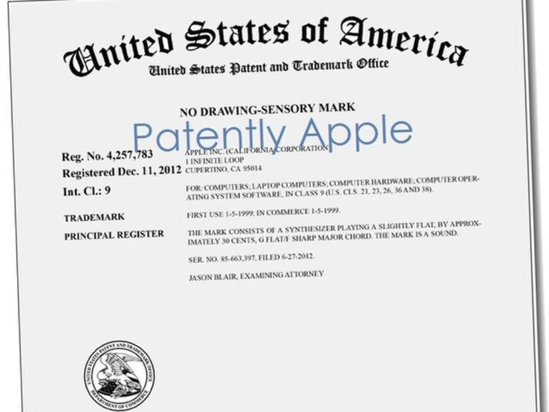 Apple erhält Patent auf Mac-Startup-Sound