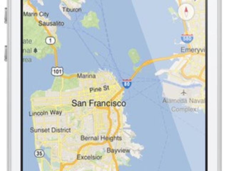 Google Maps für iOS im Test