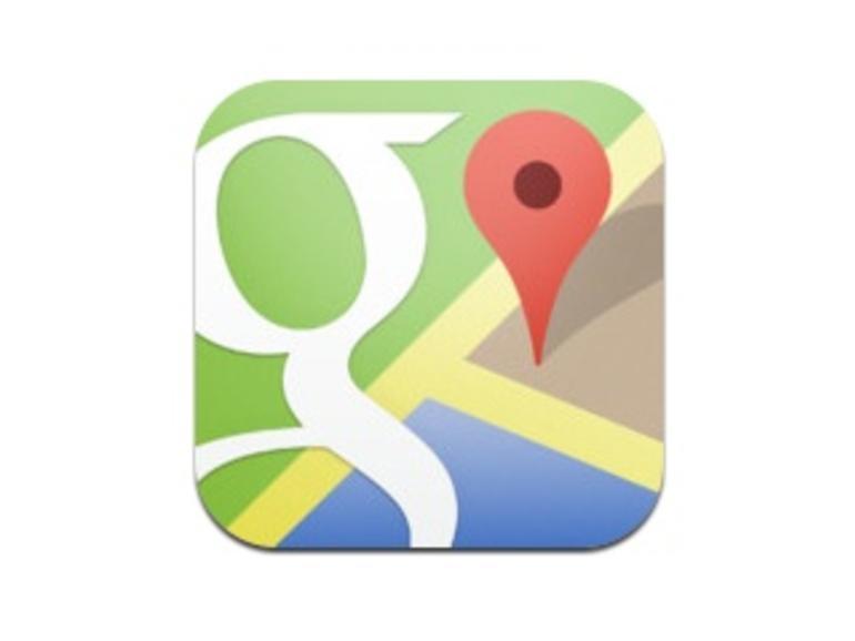 Google Maps für iOS mehr als 10 Millionen Mal heruntergeladen